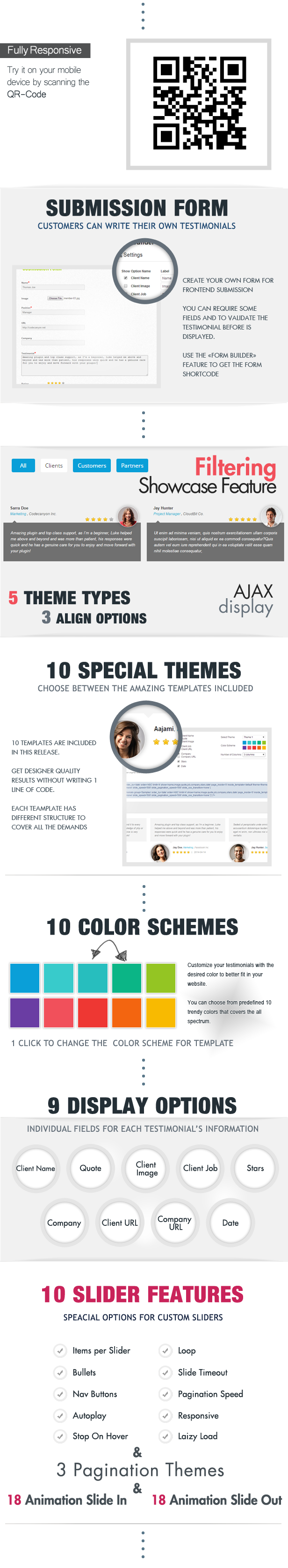 Testimonials Showcase WordPress Plugin - 2